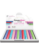Power Bullet Executive Waterproof 5 Inch Assorted Colors 12...