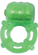 Climax Juicy Rings Cock Ring Waterproof Green