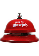 Ring For Blowjob Table Bell