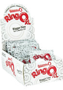 Ring O Xl Cockrings Clear 18 Each Per Display