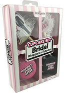 Bridal Wrappers And Toppers Cupcake Set