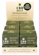 Cbd Daily Intensive Cream Triple Strength 13 Each Per Pop...
