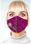 Super Sexy #flirty Mask - Fuchsia/black