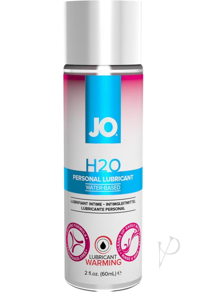 Jo H2o Warming Water Based Lubricant 2 Ounce Spray