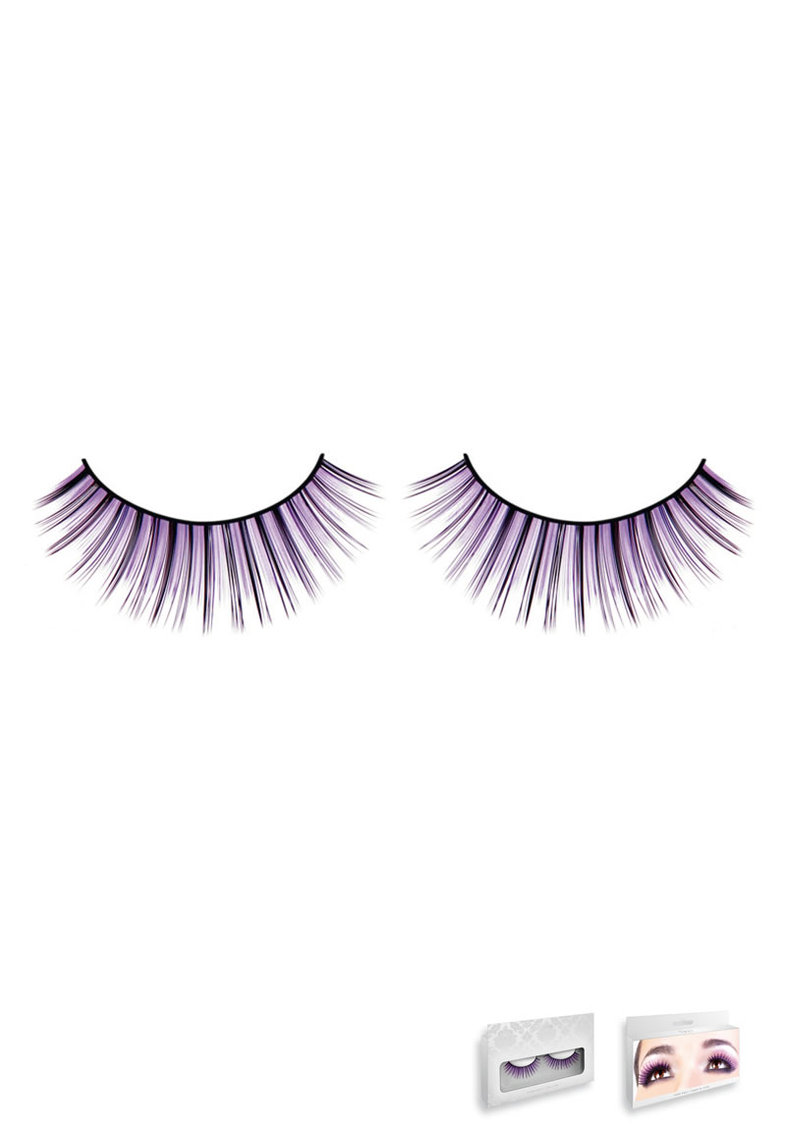 Black-purple Deluxe Eyelashes