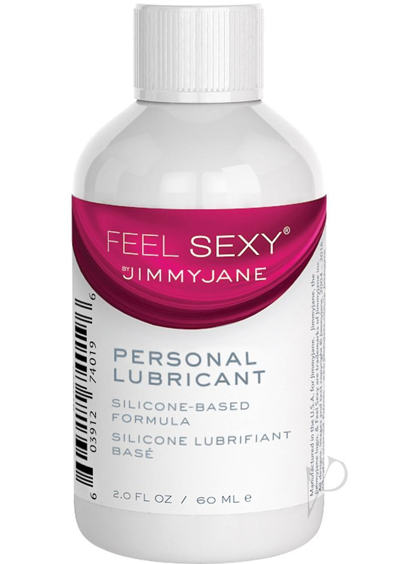 Jimmyjane Feel Sexy Personal Silicone Based Lubricant 2 Ounce