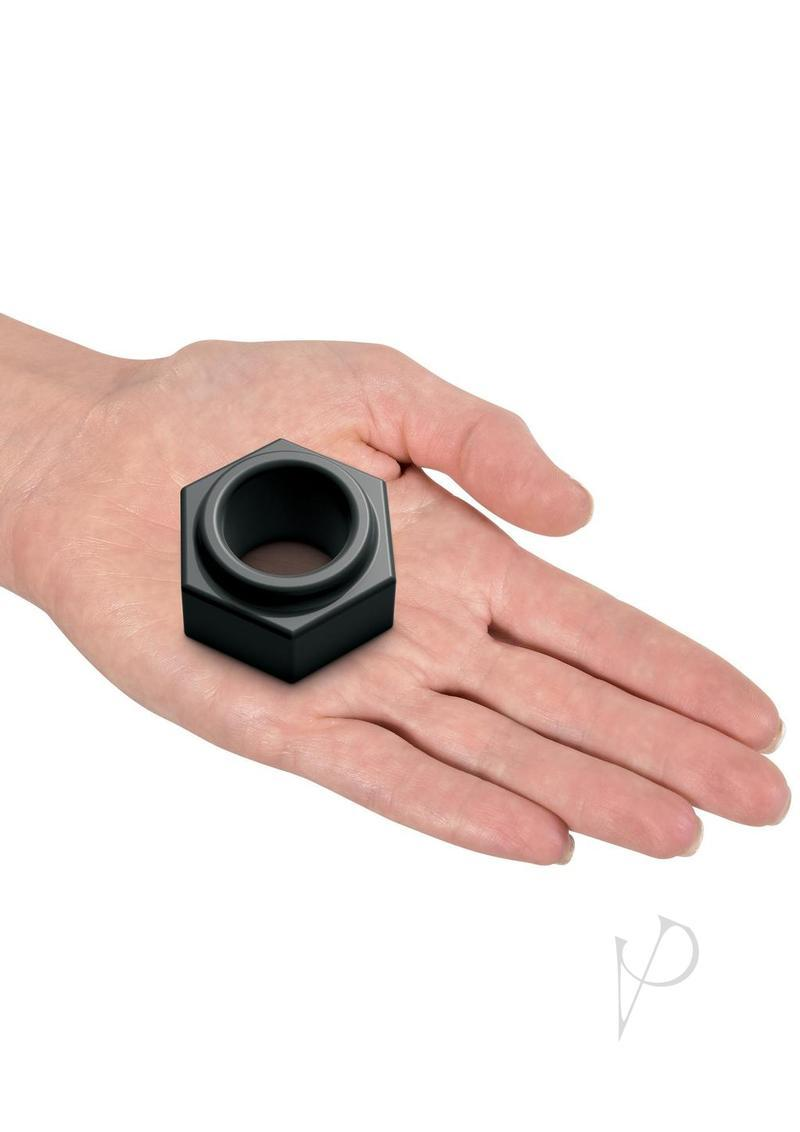 Sir Richards Control Super Nut C-ring Silicone Black